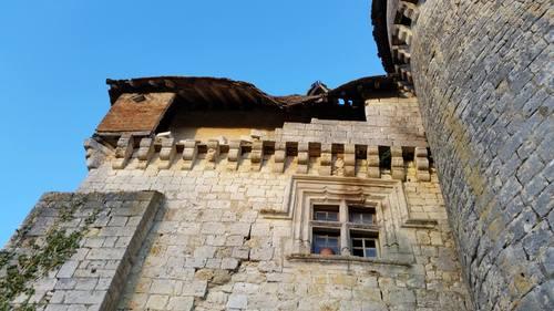 Affaissements et dégâts à la toiture