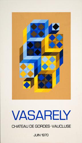 Affiche pour le Château de Gordes, 1970