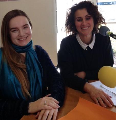 Katy Bernard ( à gauche) et Sandrine Biyi à droite les auteures de la pièce