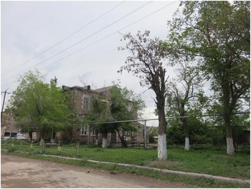 une des maisons du village de anipemza