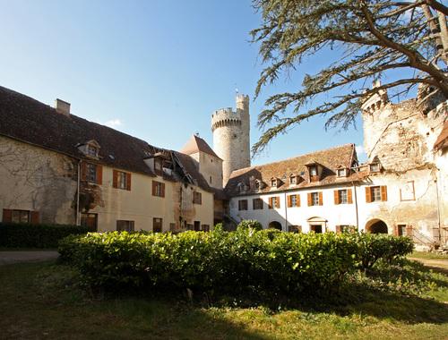 château cour intérieure