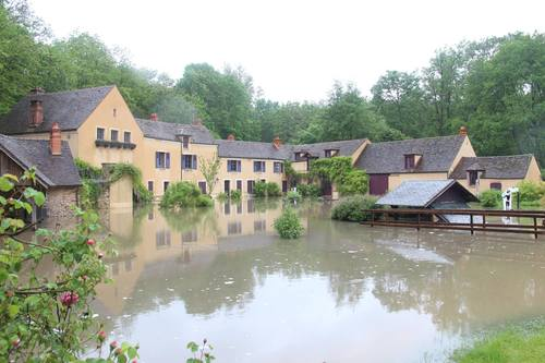moulin inondé