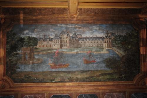 La représentation de Fontainebleau avant restauration