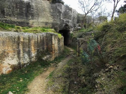Sortie du tunnel de Parottes