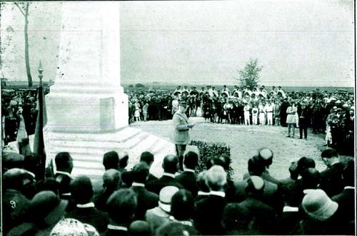 Reportage phographique de l'inauguration (20 juillet 1930)