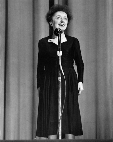 Edith Piaf Olympia - (c) Hugues Vassal