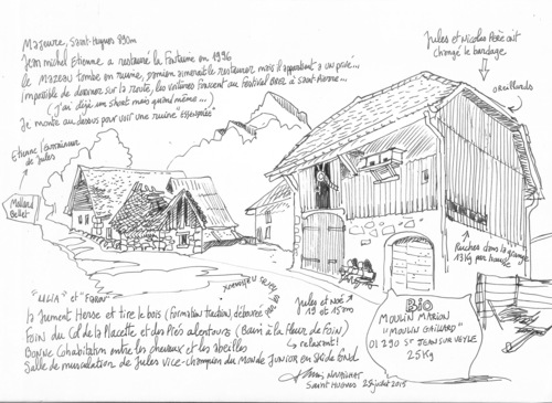 Dessin : Le Fenil 2015 (A. Nouhaillat)