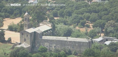 Le couvent San Francescu d'Oletta dans le reportage TF1 50'INSIDE - Escale de rêve en Corse