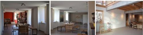 Galerie et atelier