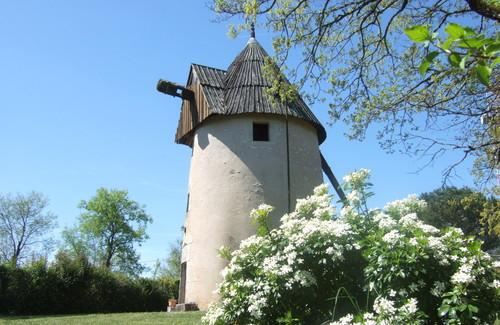 Le moulin sans les ailes en 1990