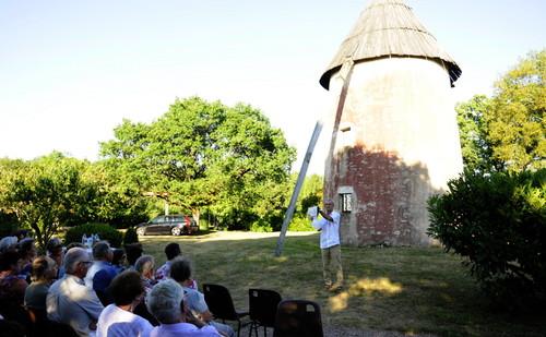 Concert au moulin en 2015