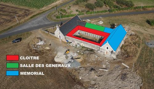 Projet final de la Chapelle St Pierre Ès Liens.