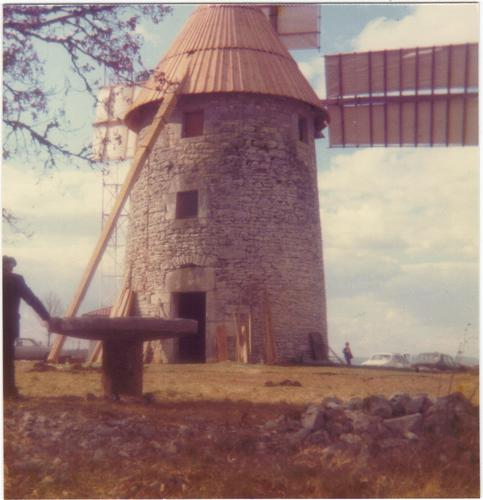 Moulin avec voilure 1976
