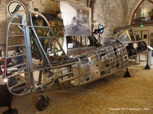 Le fuselage et son empennage vertical - Expo Cellia 2015