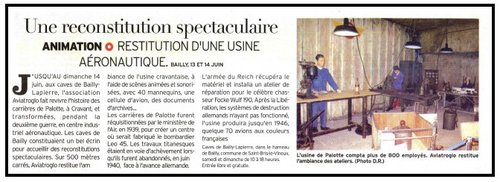 Article YR Expo Bailly 2009