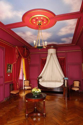 La chambre du Prince Jérôme à Villandry