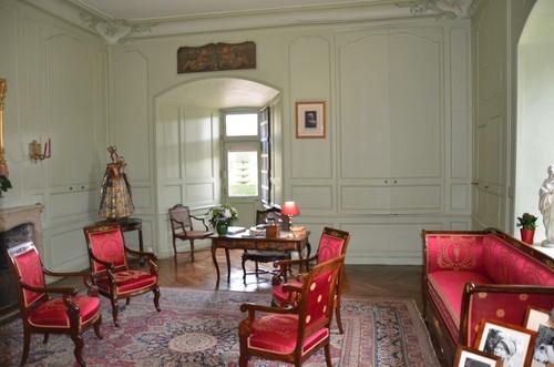 Le bureau de Joachim Carvallo