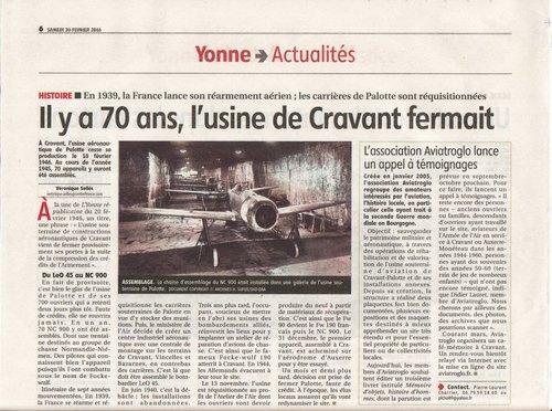Article YR - 70 ans fermeture usine de Palotte