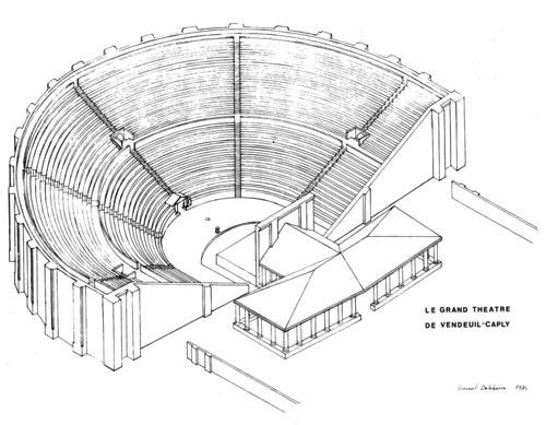Restitution du Grand Théâtre de Vendeuil-Caply