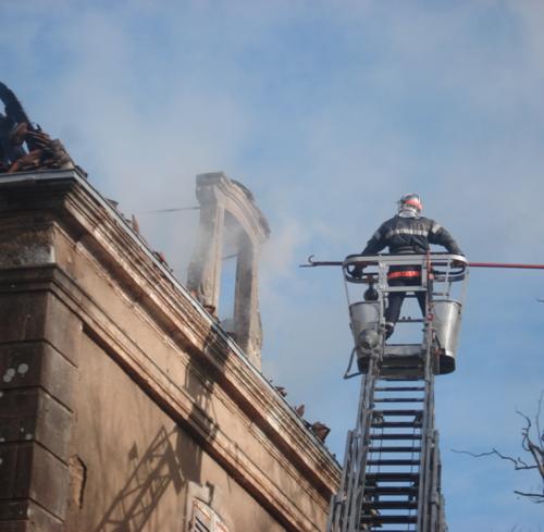 Incendie le 18 décembre 2008