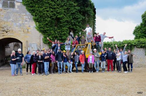 Chantier de bénévoles de Mai 2017