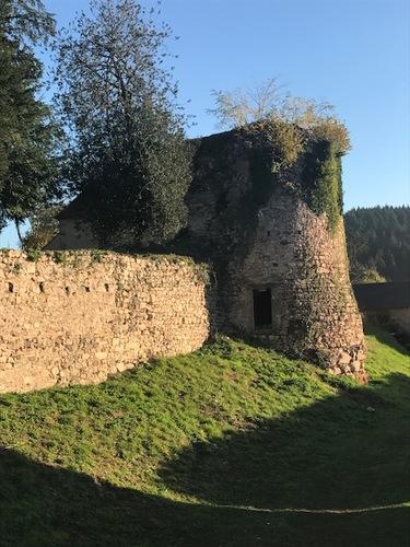 Tour médiévale de Larochemillay