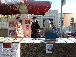 Journée organisée par l'association ' bol d'air ' où nous avions un stand pour représenter le château