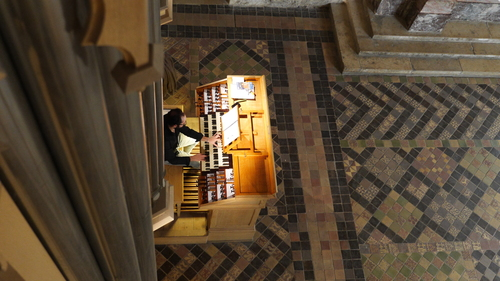 Louis-Noël Bestion de Camboulas à l'orgue Cavaillé-Coll de Royaumont (2017).