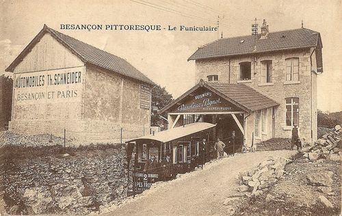 La gare haute, vers 1920