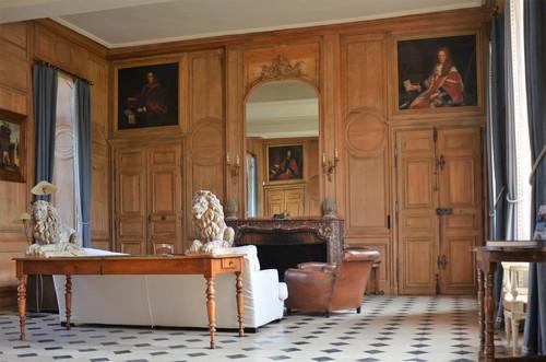 Grand salon du Château de la Rivière