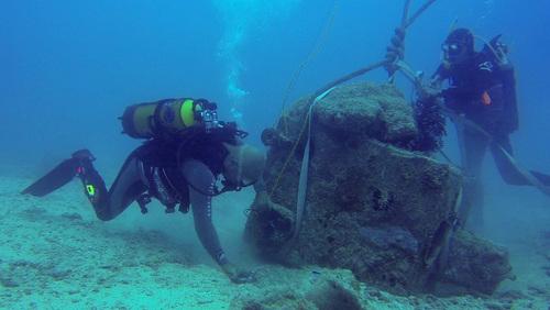 Fortunes de Mer Calédoniennes sur l'épave de LA SEINE