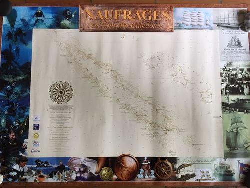 Le poster des Naufrages en Nouvelle-Calédonie