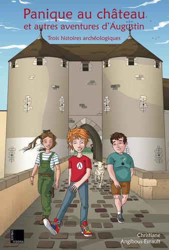 Couverture de Panique au château