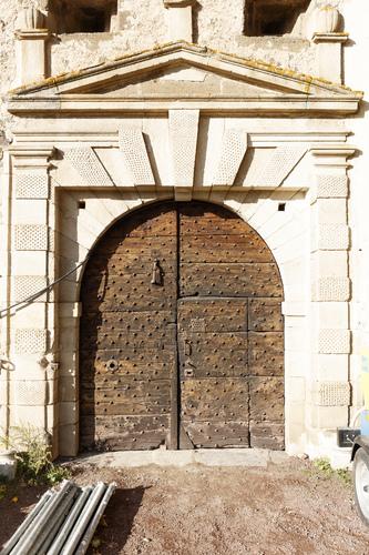 Porte d'entrée - XVIe siècle - Cf. Sebastiano Serlio