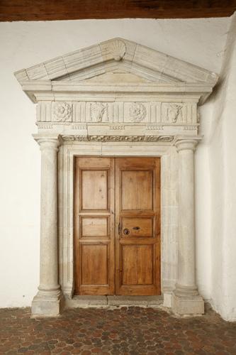 Porte d'Accès Grand Salon - Cf. Vitruve - XVIe