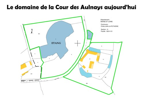 The property of 5 hectars of la Cour des Aulnays