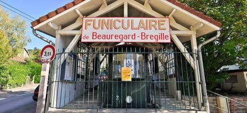 La gare basse du Funiculaire, restaurée en 2007 © Patrick Fourneret