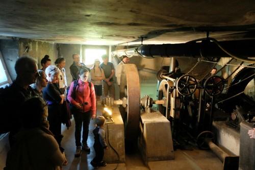 La machinerie du Funiculaire, inscrite aux Monuments Historiques