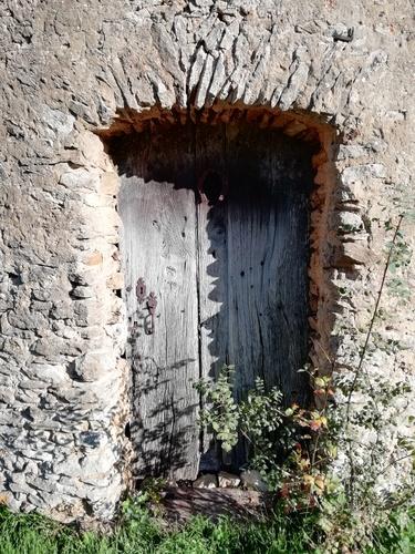 Porte principale façade sud