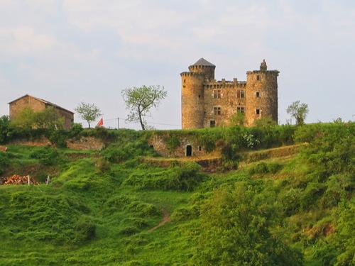 Château de Pagax : vue d'ensemble