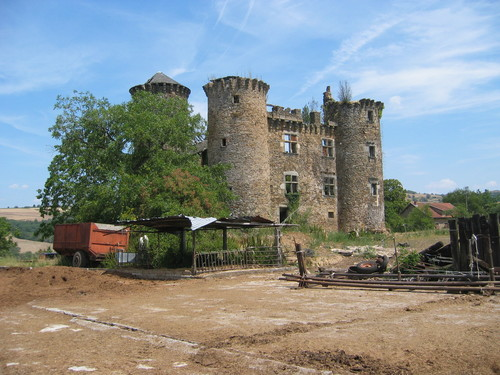 Château de Pagax : l'exploitation agricole