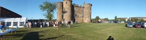 Château de Pagax : vin d'honneur de la conférence
