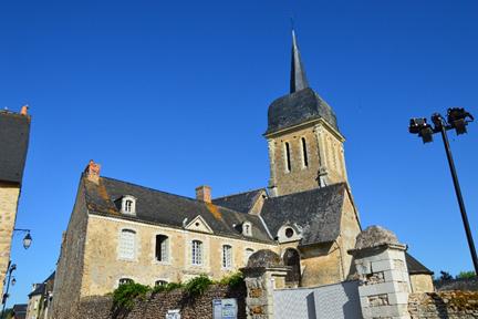 L'église Notre Dame de Brissarthe