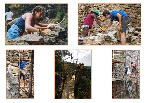 Chantier-jeunes Archéologie & Restauration