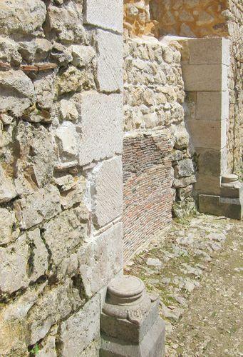 Cheminée XIIe restaurée par l'association
