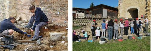 Les activités de l'association : archéologie, pédagogie...