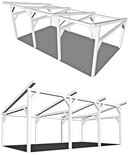 Les plans de la loge des tailleurs de pierre