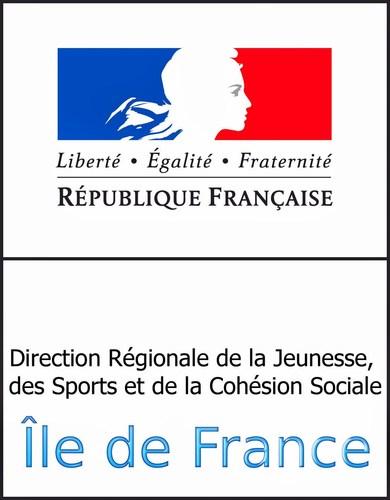 La Direction Régionale de la Jeunesse, des Sports et de la Cohésion Sociale d' Île-de-France