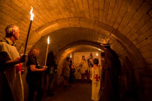 Visite insolite aux flambeaux