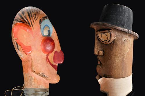 Têtes de marionnettes Temporal